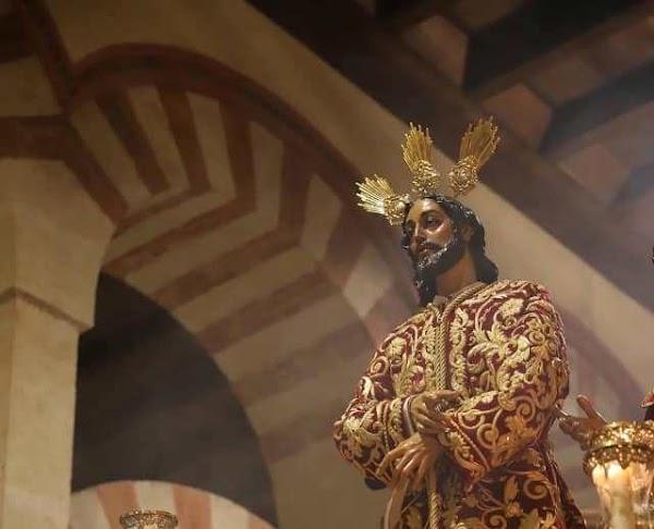 Unos 200 hermanos de la Sentencia acompañarán al Señor en el Vía Crucis de la Agrupación de Córdoba