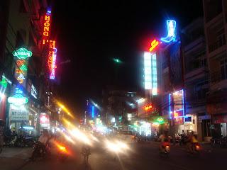 Vietnam pendant la nuit