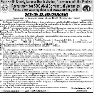 5000 Nursing Vacancies for Auxiliary Nursing and Midwife