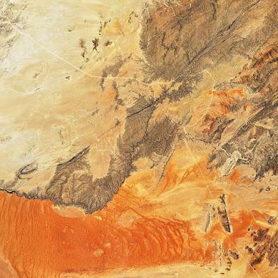 صورة لصحراء ناميب من الفضاء ضمن أجمل الصور للأرض من الفضاء وفق مسابقة وكالة ناسا Nasa