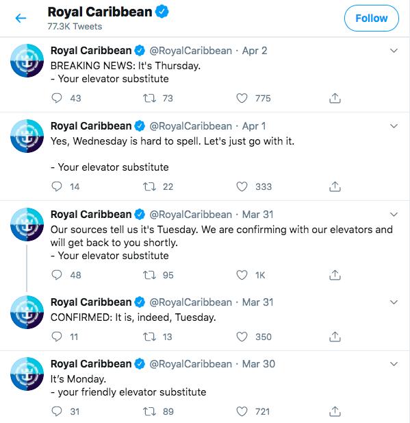 Best virtual cruise travel experiences Royal Caribbean