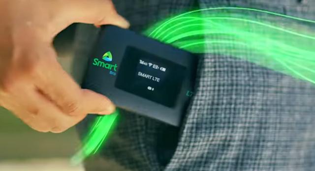 Smart Bro Prepaid LTE Pocket WiFi
