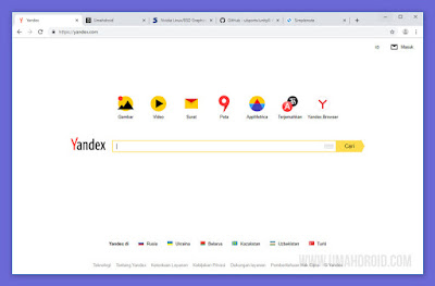 Mesin Pencari Dasar yang Digunakan Yandex