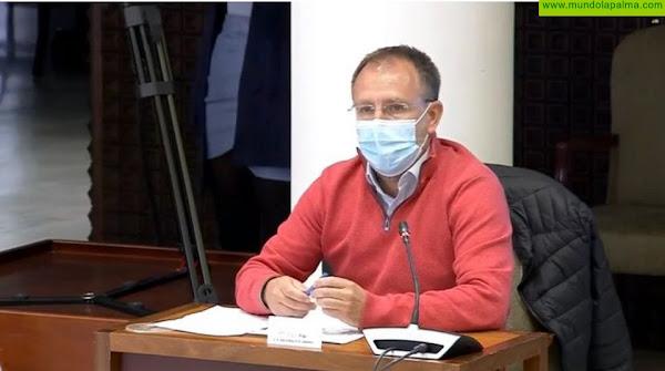 Sergio Rodríguez pide al Gobierno de Canarias que agilice la contratación de las obras pendientes en los colegios de La Palma
