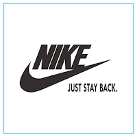 NIKE Just Stay Back Logo - Free Download File Vector CDR AI EPS PDF PNG SVG