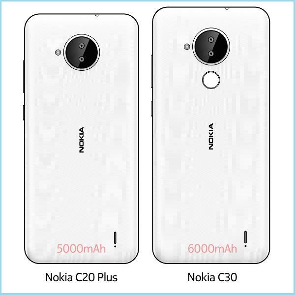 Nokia C20 Plus và Nokia C30
