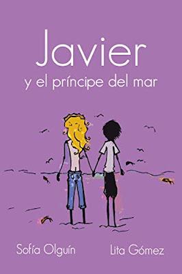 Javier y el príncipe del mar, Sofía Olguín, Portada