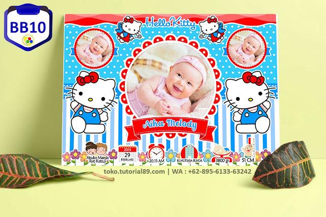 Biodata Bayi Costume Baby Girl Kode BB10 | Hello Kitty