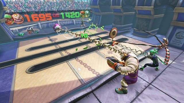 ARMS Global Testpunch Skillshot break the targets Master Mummy