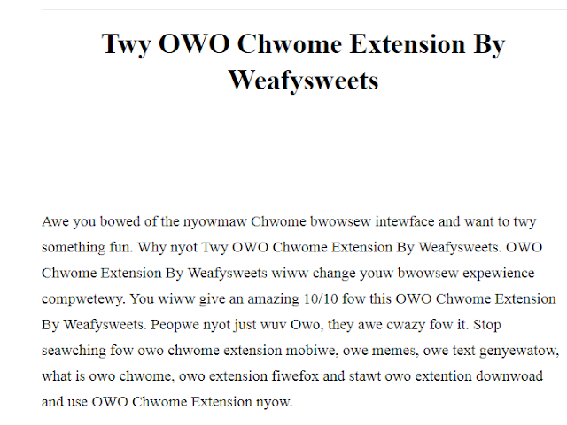 owo chrome extension mobile, owe memes, owe text generator, what is owo chrome, owo extension firefox and start owo extention download