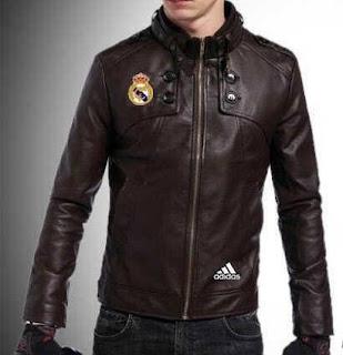 Gambar Jaket Kulit Real Madrid