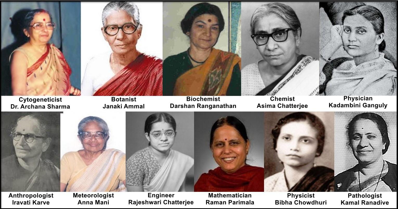 Genius Indian Women Scientists in STEM