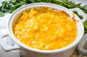 Melissa's Baked Macaroni and Cheese recipe from Served Up With Love