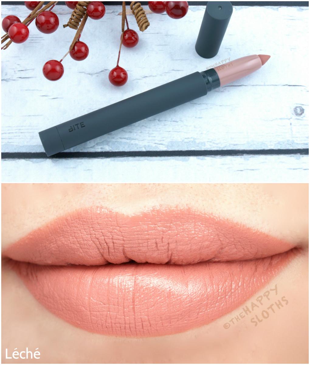 Bite Leche Matte Creme Lip Crayon