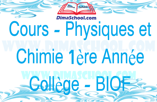L'électricité qui nous entoure - Cours - Physique et Chimie 1 AC BIOF