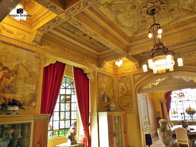 Palacete Rosa - Sala de estar