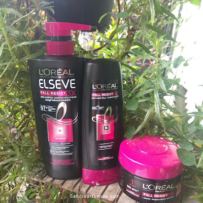 Review L'Oreal Paris Elseve Anti Hairfall