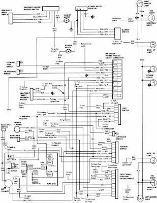 Ford Bronco 1984 Instrument Panel Wiring Diagram | All