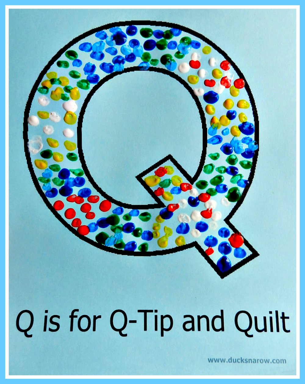 Crafts Using The Letter Q