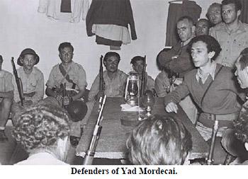 Defenders of Yad Mordecai
