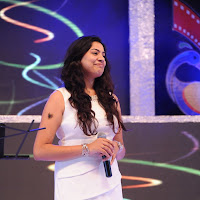 Geetha madhuri photos of performing at tollywood tv launch
