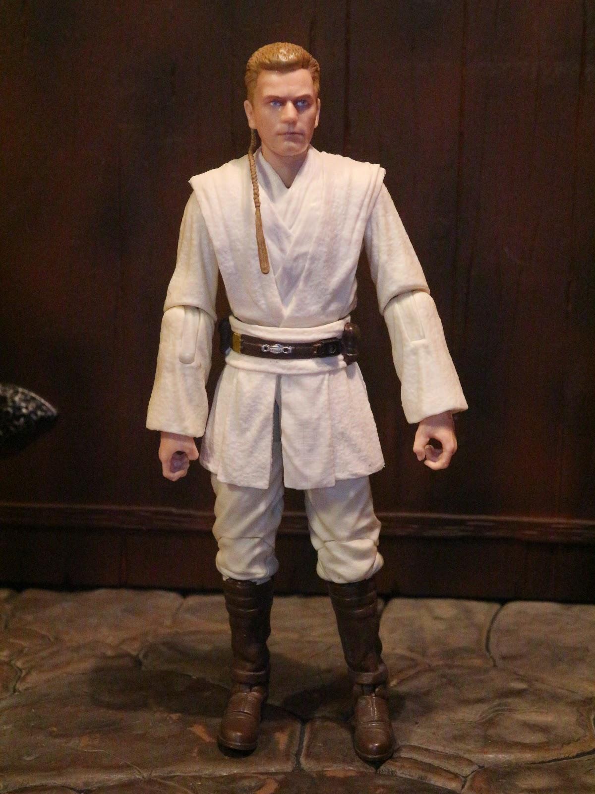 New! Hasbro Star Wars Episode 1 Obi-Wan Kenobi Jedi Duel Action Figure