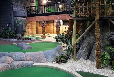 Paradise Island Adventure Golf at the Trafford Centre