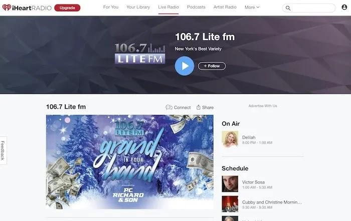 محطات راديو ويب مفيدة 1067 Lite FM