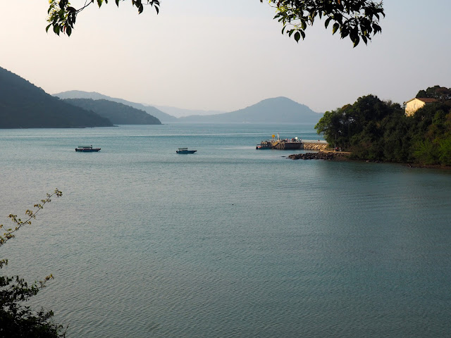 Coastal views at Wong Shek Pier, on the hiking trail to Pak Tam Au from Tai Long Wan, Hong Kong