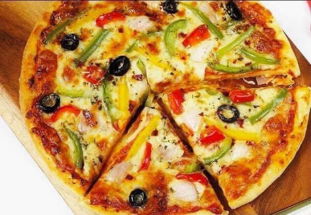بيتزا بالخضروات