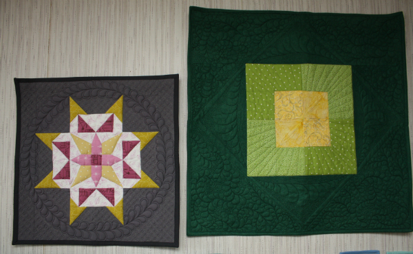 Mini quilts | DevotedQuilter.blogspot.com