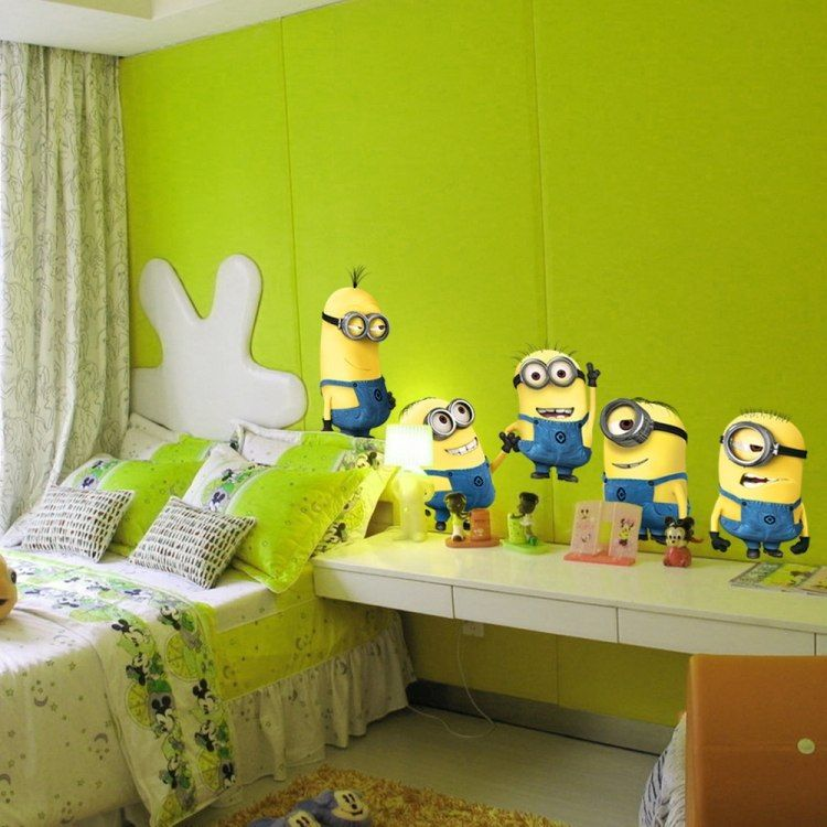 Dormitorios tema minions dormitorios colores y estilos for Dormitorios tematicos