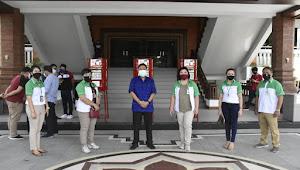 Pemkot Denpasar Terima Bantuan Puluhan Wastafel Portable Dari BPD Bali Untuk Seluruh Desa dan Kelurahan