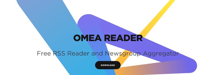 Omea Reader feed reading app