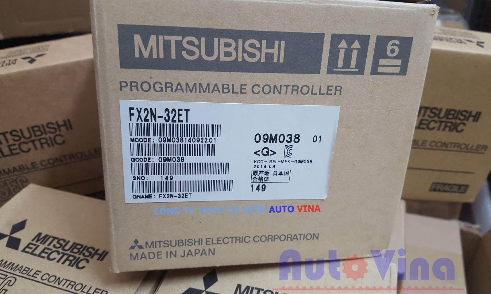 FX2N-32ET-ESS-UL hàng mới full box đầy đủ phụ kiện. Đại lý bán PLC Mitsubishi, modun PLC Mitsubishi FX2N tại Việt Nam