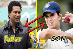 Cricket News - Famous Father-son of Indian Cricket