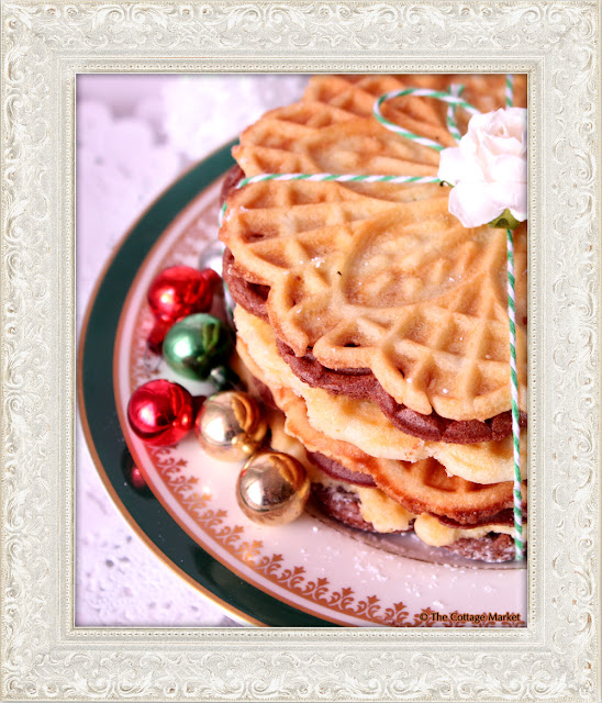 This homemade pizzelles recipe is great for the holidays.