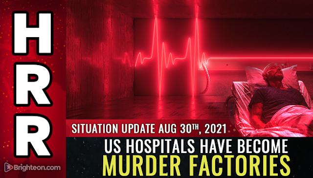 A koronavírus -zsarnokság alatt az amerikai kórházak gyilkossági gyárakká váltak! Videó