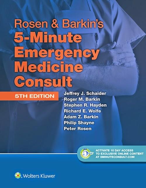 Rosen&Barkin Sổ tay Lâm sàng Cấp cứu Nội khoa 5e