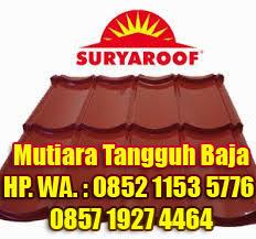 Distributor Genteng Metal Surya Roof Jakarta dan Sekitarnya