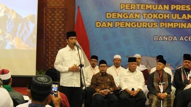 Bawaslu Diminta Awasi Pertemuan Jokowi dengan Ulama di Aceh
