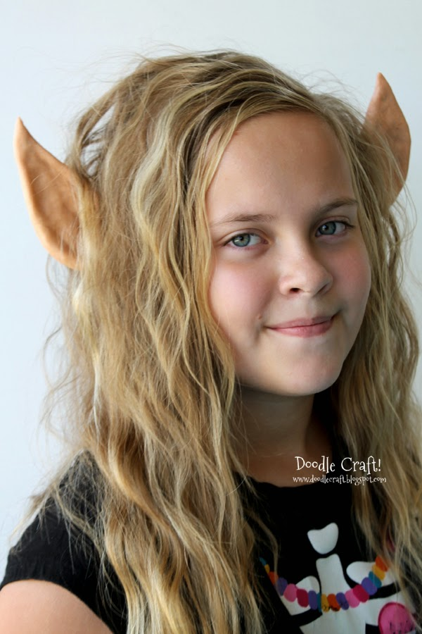 Elf Ear headband made of polymer clay perfect for Christmas elves, Lord of the Rings Elf, or Elven Princess