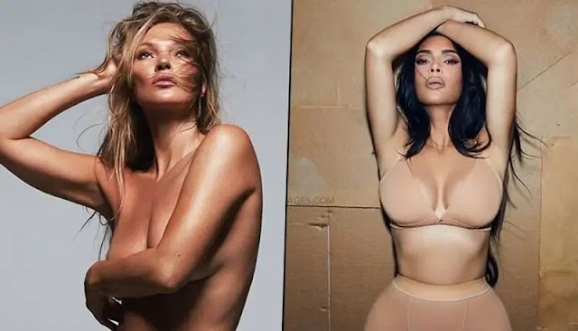 SKIMS' New Face Is Kate Moss