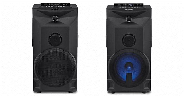 Speaker Aktif Sharp CBOX-PRO10UBB