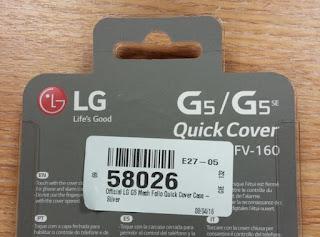 LG G5 SE is real and it will fit inside the G5's Quick Cover case