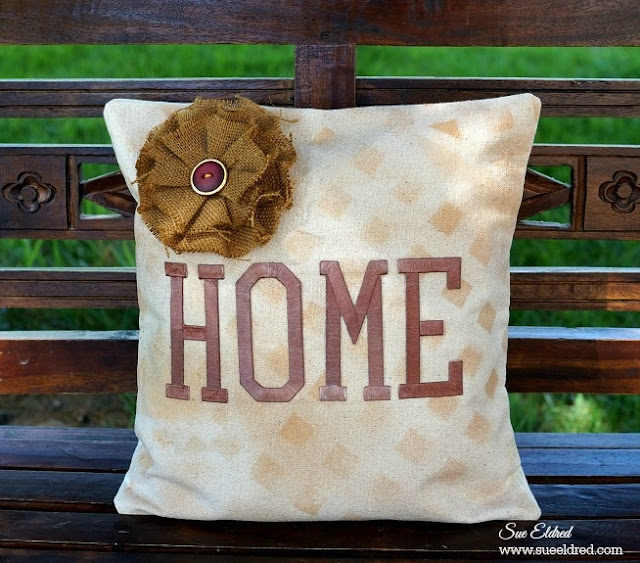 no sew decorator pillow