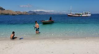 Kelor Island o Isla de Kelor, Parque Nacional de Komodo. Indonesia.