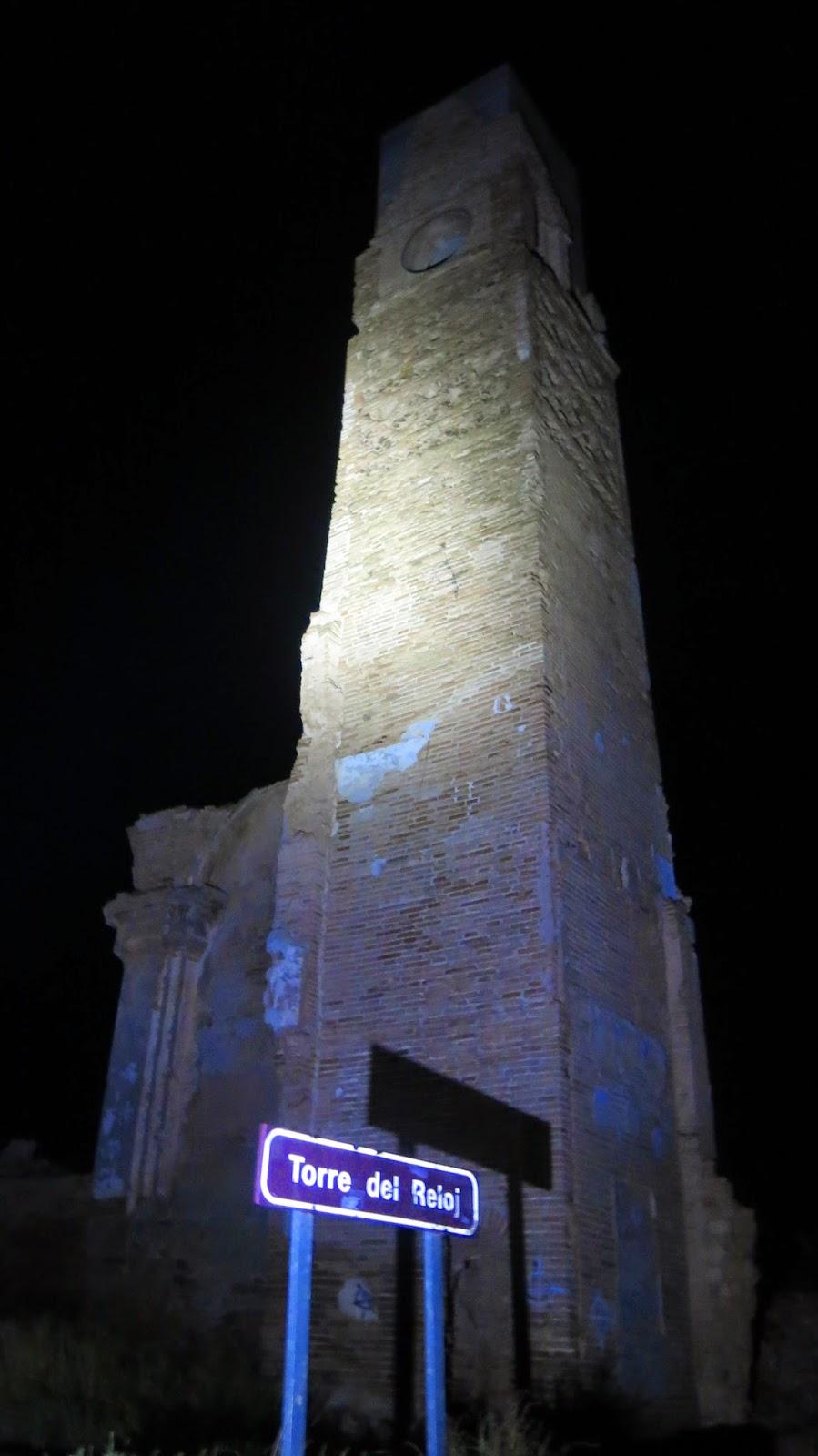 Belchite-Torre del Reloj