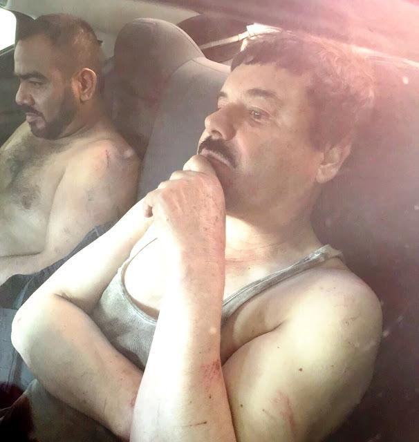 """Le doy 50 mdd y tres empresas o dígame qué quiere pero ya écheme la mano, le dijo """"El Chapo"""" a Federal que lo detuvo."""