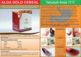 Alga Gold Collagen Cereal